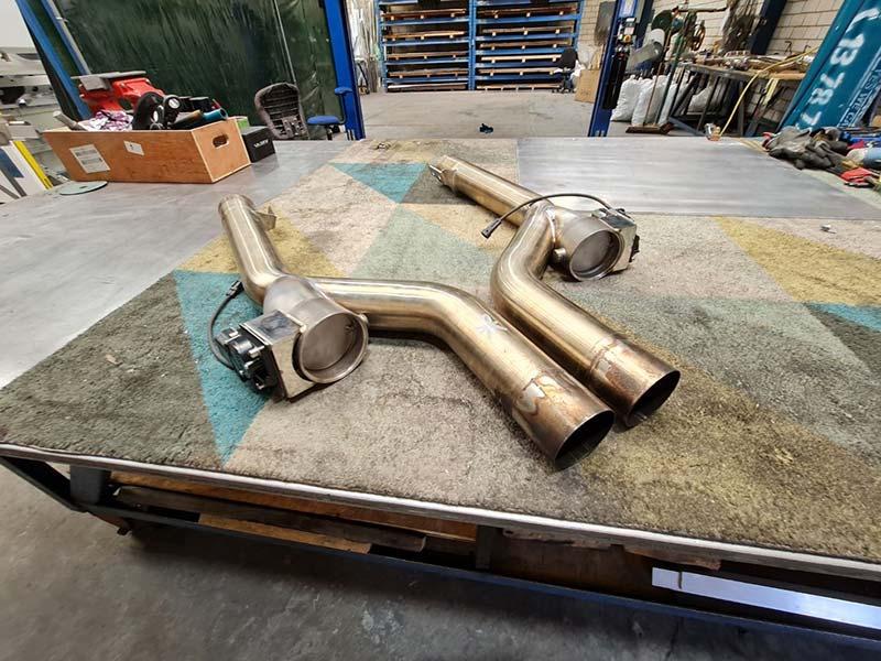 Custom Car Exhaust