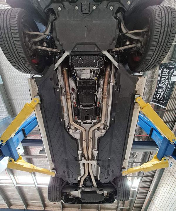 Custom car fabrication