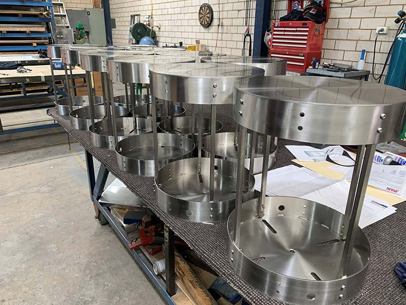 Stainless Steel Turret Housing